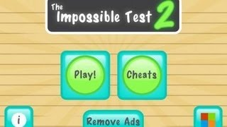 the impossible test 2 (Pixel Cube) walkthrough