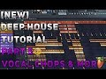 How To Make Deep House Remix FL Studio 12 2018 Tutorial Part 5 Vocal Chops More mp3