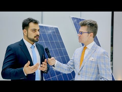 "Solar panels ""Made in Dubai"" from Noor Solar Technology - Amit Samant, Factory Manager"