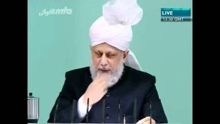 Проповедь Хазрата Мирзы Масрура Ахмада (04-11-11)