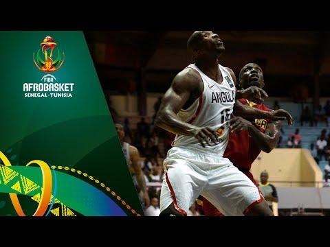 Angola v Uganda - Highlights - FIBA AfroBasket 2017