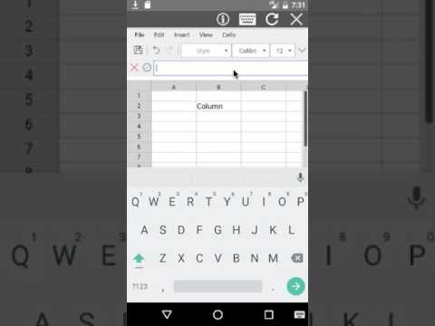 AndroXLS editor for XLS sheets - Apps on Google Play