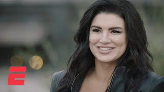 Gina Carano Finds A New Beginning In Star Wars Series 'the Mandalorian' | Espn Mma