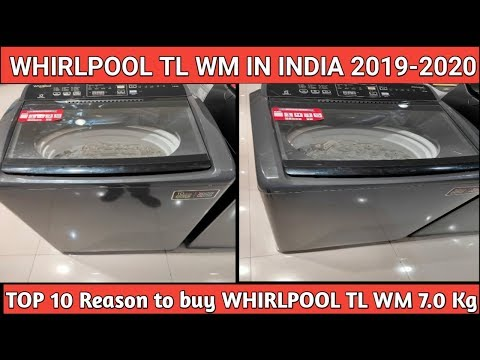 Whirlpool Toploading washing Machine Whitemagic Elite 7.0 Kg  Demo/Usp/Benefits in Hindi