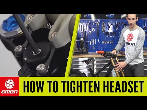 How To Tighten Headset With Triple Crown Forks | Mountain Bike Maintenance