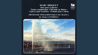 """""""Offrande au Rhône"""", poème symphonique"""