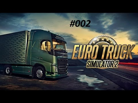 Let's Play Euro Truck Simulator 2 - FRANCE RADIO ERLAUBT???o.O [HD] #002