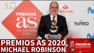 Premios AS 2020 | Michael Robinson, Premio AS Leyenda | La despedida de Relaño | Diario AS