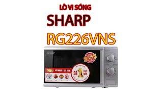 Lò Vi Sóng Sharp RG226VNS- Pico.vn