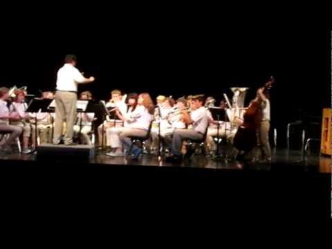 Parcells Middle School (2nd video) 2012 Music in the Parks