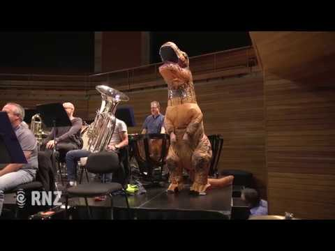 New Zealand Symphony Orchestra performs Jurassic Park