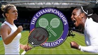 Serena vs  Simona Wimbledon Final Facts