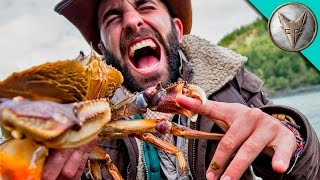 PINCHED by a HUGE CRAB! by : Brave Wilderness