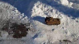 3d printed fv101 scorpion tank 1 16th scale snow run night fpv
