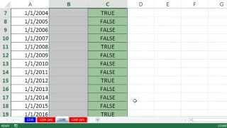 Excel Magic Trick 1240: Double Click To Copy Formula Down When Formula Is Not Next To Data Set