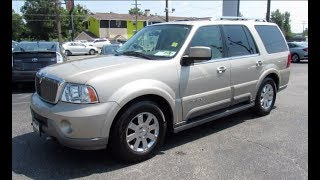 *SOLD* 2004 Lincoln Navigator Ultimate 4WD Walkaround, Start up, Tour and Overview