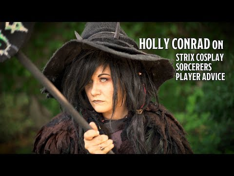 Holly Conrad on Strix Cosplay, D&D and Player Advice