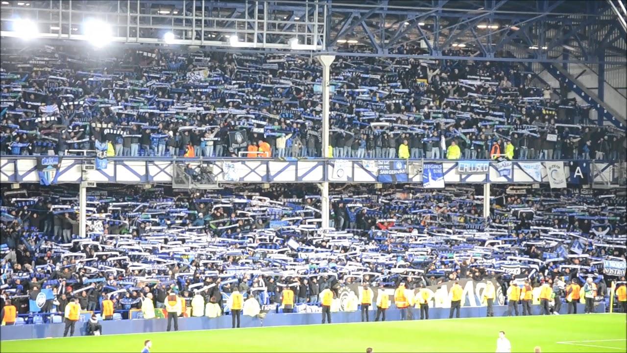 Atalanta Bergamo Fans in Everton 23.11.2017 - YouTube