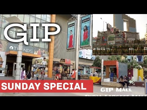 GIP Mall Noida Sunday Shopping Tour by Tech N Social, Great India Place Largest Mall in India, Noida