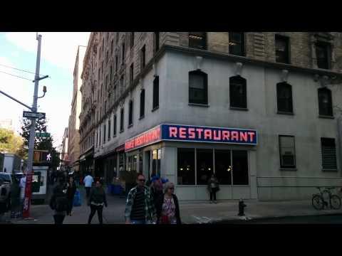 New York, Tom's restaurant (Seinfeld) buiten