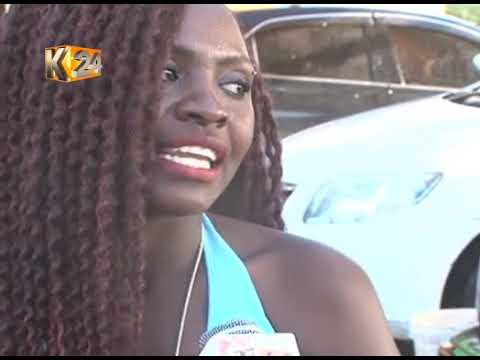 Bikini clad ladies wash patron's vehicles for free at Natives Club, Nairobi