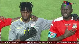 GAMBIA Vs SOUTH SUDAN         INTERNATIONAL FRIENDLY MATCH, HAPPENING LIVE IN EL JADIDA, MOROCO.