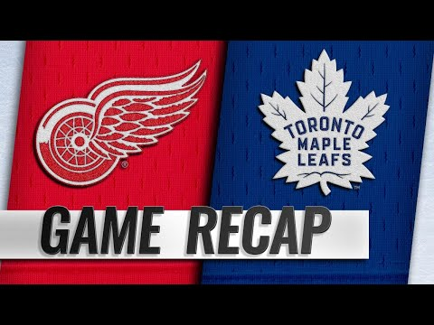 Maple Leafs rally late, top Red Wings in OT