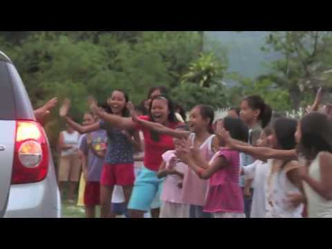 Ana visits Pozorrubio, Philippines