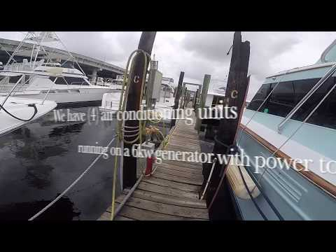 Marine Air Conditioning and Diesel Generator Installation on a Lagoon 40 PowerCat by MPS