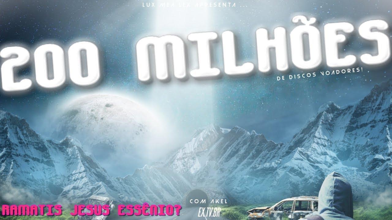 🛸 DEUS Tem 200 milhões de DISCOS Voadores!