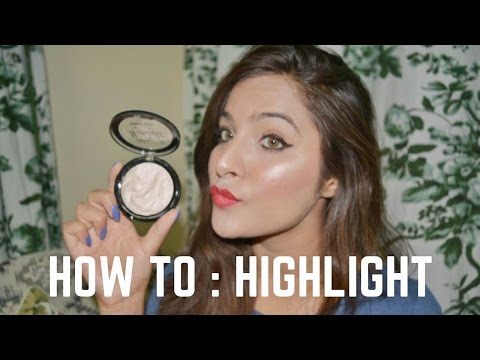 How to Apply Highlighter Makeup Tutorial for Beginners
