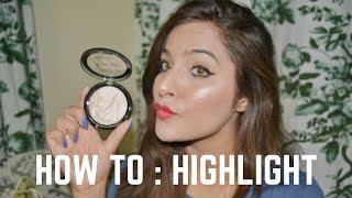 видео Highlighter Makeup