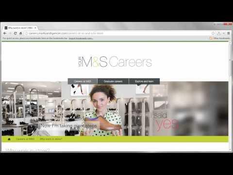 Marks & Spencer Job Application Process
