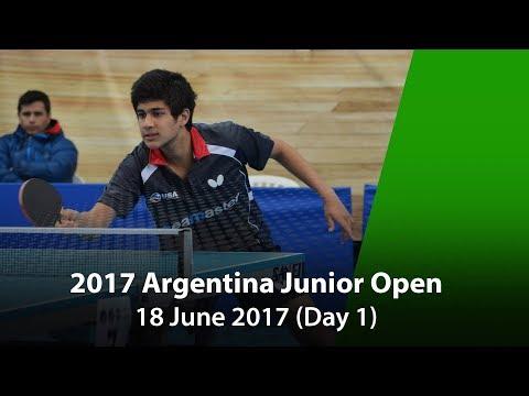 2017 ITTF Argentina Junior Open Day 1