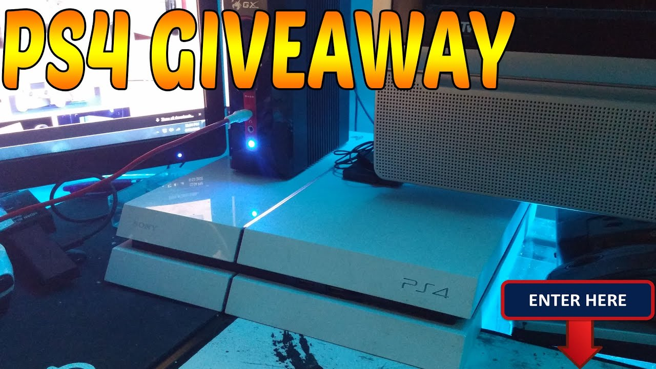 ps4 sweepstakes white ps4 giveaway youtube 6693
