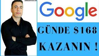 Google ile Günde 168 Dolar Kazanın  (Yatırımsız & Tecrübesiz)