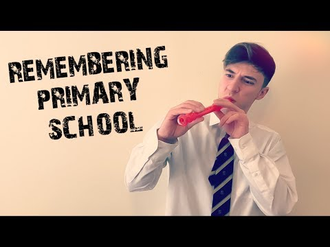 REMEMBERING PRIMARY SCHOOL...