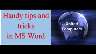 Some VERY handy tips and tricks in MS Word  Enclose graphics in shapes, checkboxes,dropdown menus