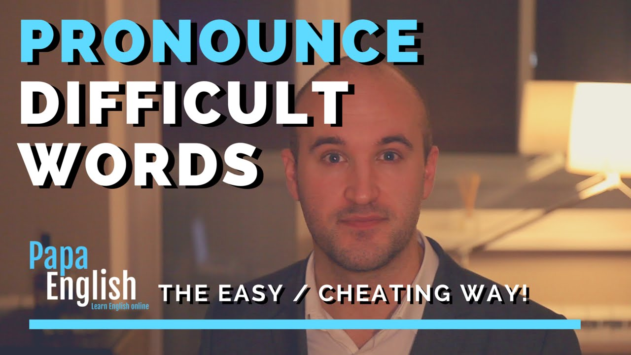 english esl students words pronounce difficult