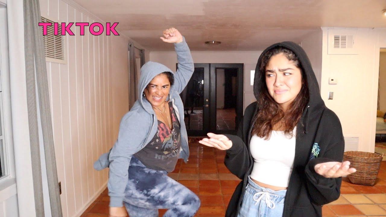 YAFITT SCREAMED AT ME WHILE LEARNING TIKTOK DANCES!!