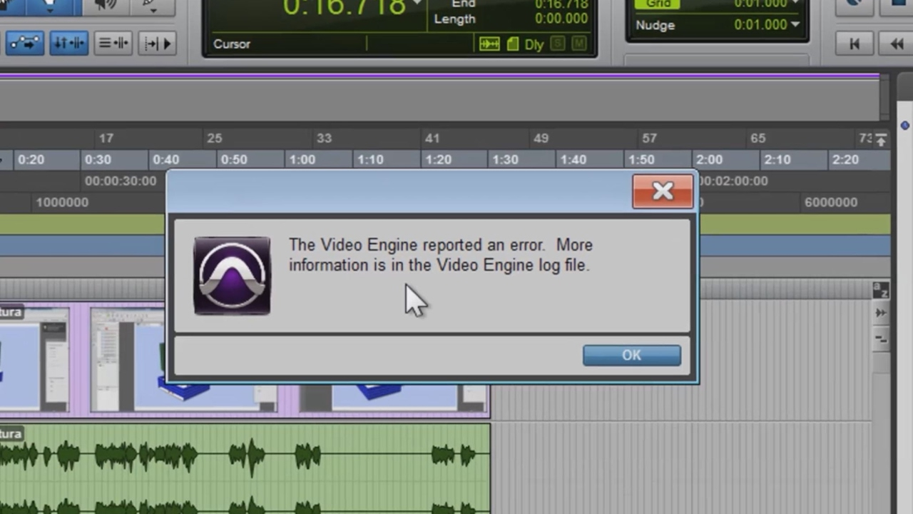 fix  video engine reported  error  pro tools  windows  youtube
