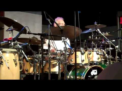 Ginger Baker plays GINGER SPICE at the Iridium in NYC, 10-11-13