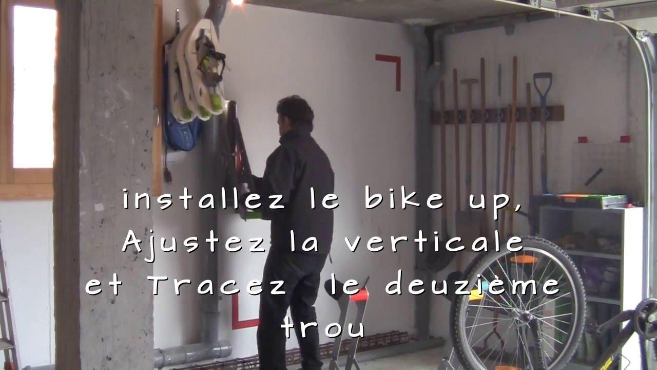 Fixation Pour Velo Garage bike up - support mural pour vélo