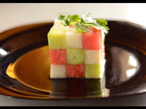 Rubik's Cube Summer Salad Recipe