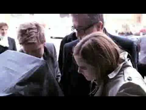 Emma & Alex Watson Burberry 2010 Behind The Scenes