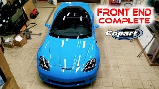 Rebuilding Wrecked 2011 Corvette Grand Sport Part 9