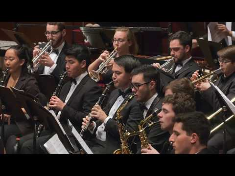 UMich Symphony Band - Zhou Tian - Petals of Fire