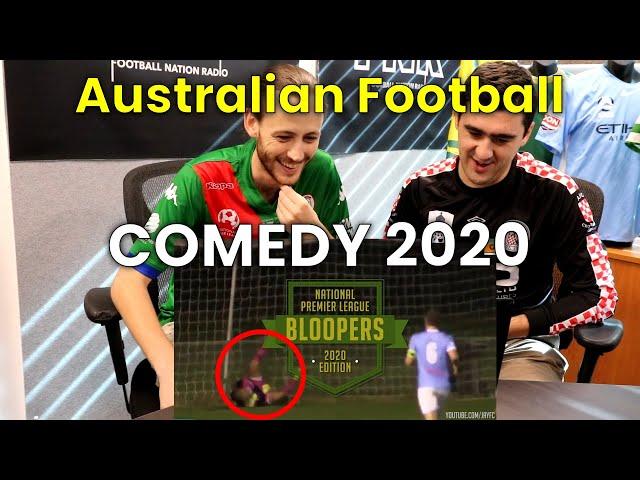 Soccer in Australia! | Reaction Video | Australian National Premier League (NPL) Comedy