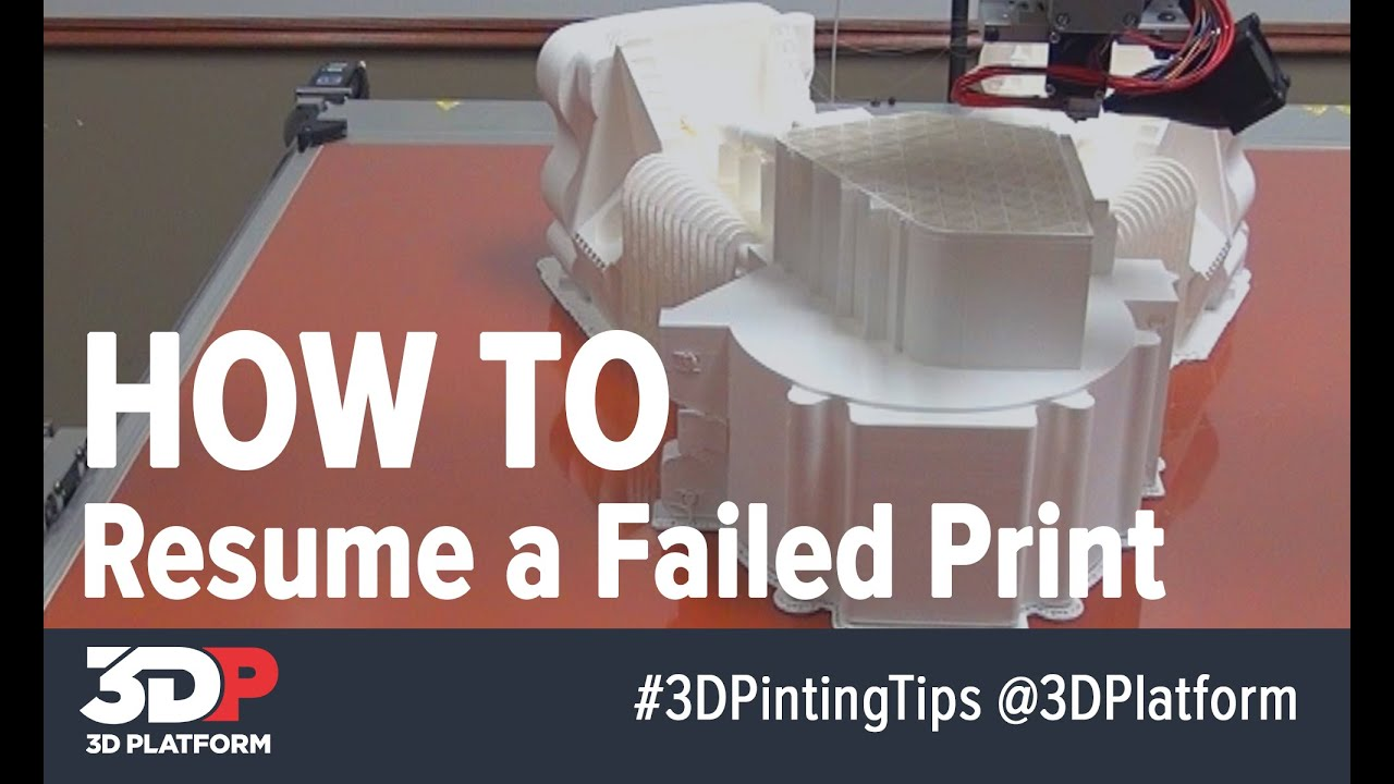 3dp video byte how to resume a failed 3d print