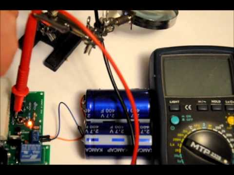 The High Power Super Capacitor Charger Module  18 Watts @ 1.5 Amps